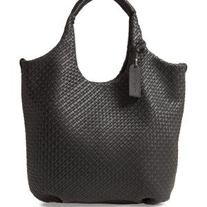 SOLE SOCIETY Ady Woven Faux Leather Tote